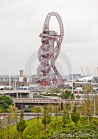 London 2012: ArcelorMittal orbit Editorial Photo