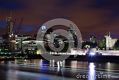 London  2012, City of London Editorial Stock Image