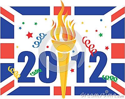London 2012 Olympic games celebration