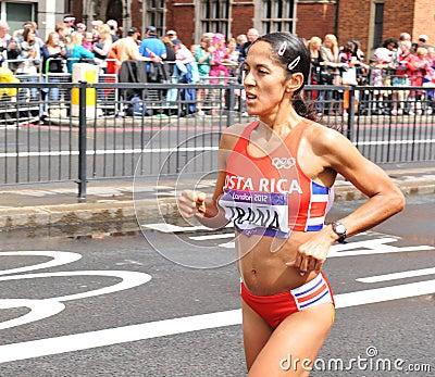 London 2012 Olympic Marathon Editorial Image