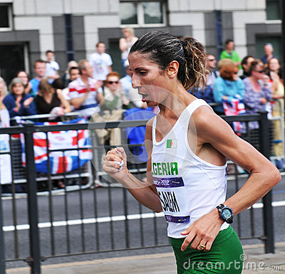 London 2012 Olympic Marathon Editorial Stock Image