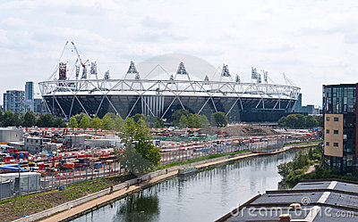 London 2012 Olympic Stadium Editorial Image