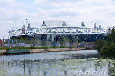 London 2012 Olympic Stadium Editorial Photography