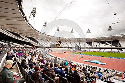 London 2012: olympic stadium Editorial Photography