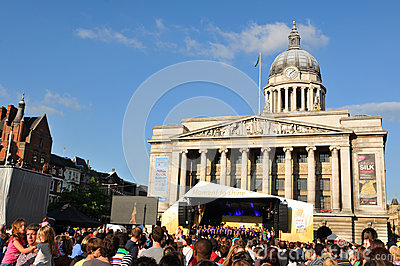 London 2012 Olympic Torch Relay concert Editorial Stock Photo