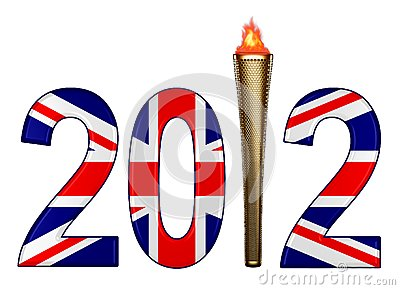 London 2012 Olympics and torch
