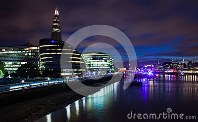 London 2012, The Shard Editorial Image