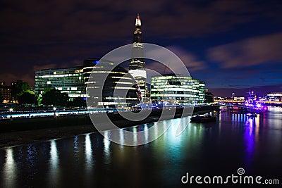 London 2012, The Shard Editorial Photo