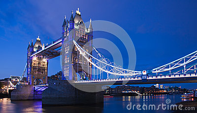 London  2012, Tower Bridge Editorial Image