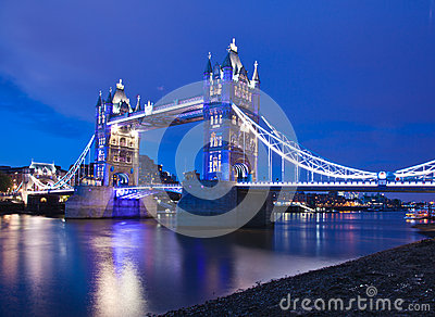 London  2012, Tower Bridge Editorial Stock Photo