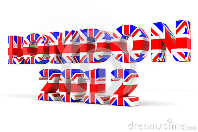 London 2012 Union Flag