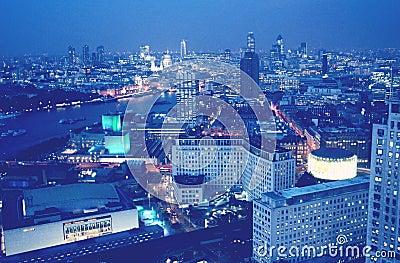 London aerial view