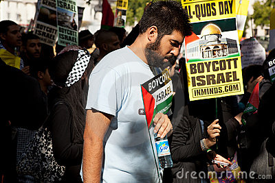 London Al-Quds march Editorial Photo