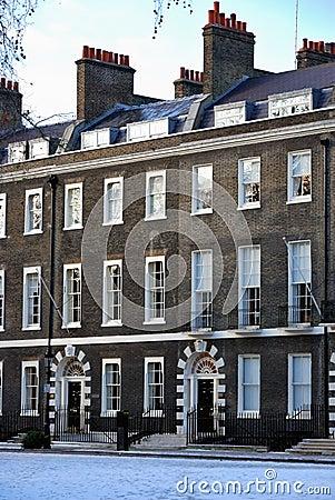 London apartments Editorial Stock Image