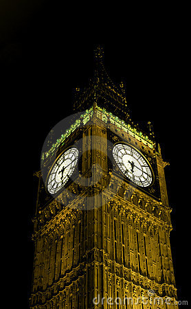 London - big ben clock