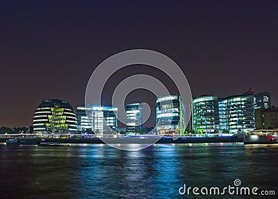 London bis zum Nacht