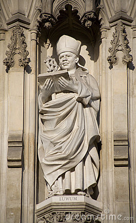 Free London - Bishop Luwum From Westminster Cathedral Stock Images - 10832164