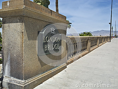 London Bridge in the Arizona Desert
