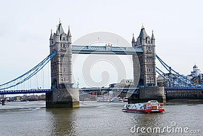 London Bridge over Thames River