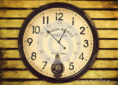 London Bridge Station Clock