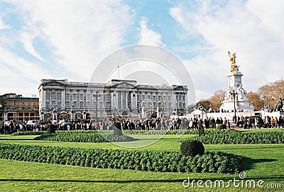 London, Buckingham Palace Editorial Stock Image