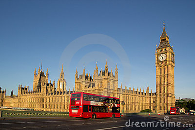London Bus Editorial Photography