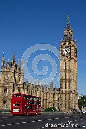 London Bus Editorial Image