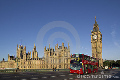 London Bus Editorial Stock Image