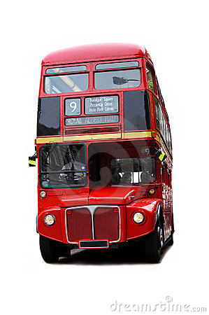 London Bus Royalty Free Stock Photography - Image: 9537907