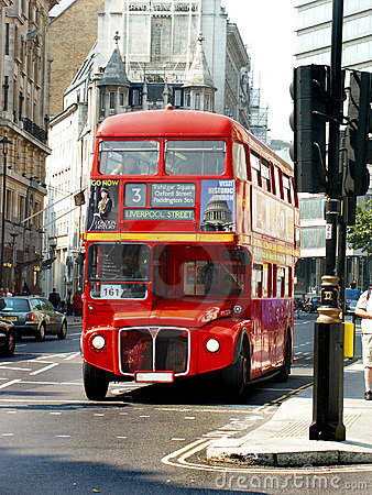Free London Bus Front Royalty Free Stock Photos - 1112978