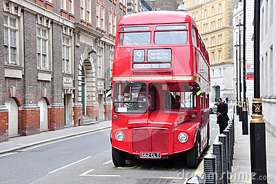 London bus, UK Editorial Stock Image