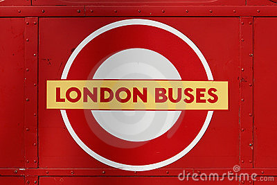 London Buses Logo Editorial Photo
