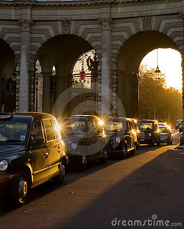 Free London Cabs Royalty Free Stock Images - 3174309
