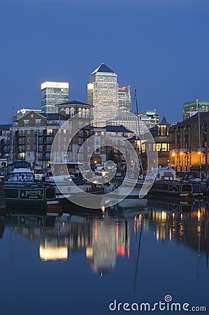 London - Canary Wharf Editorial Photo