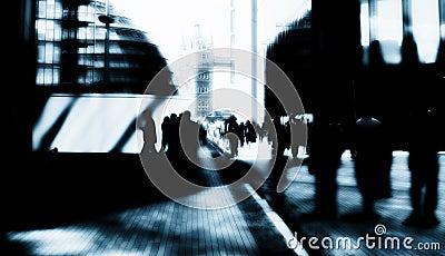 London city businessmen