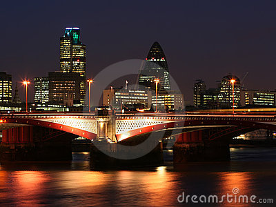 London city - night scene#2
