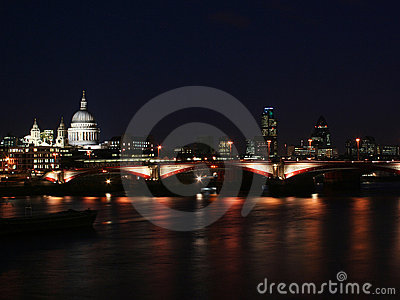 London city - night scene#4