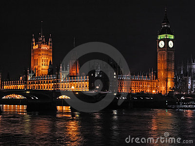 London city - night scene#5