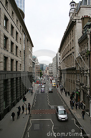 London city street
