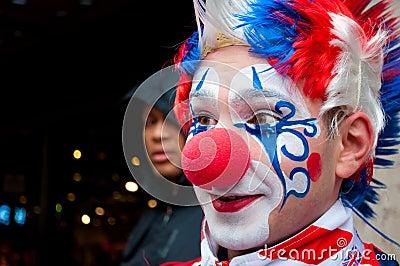 London clown Editorial Stock Image