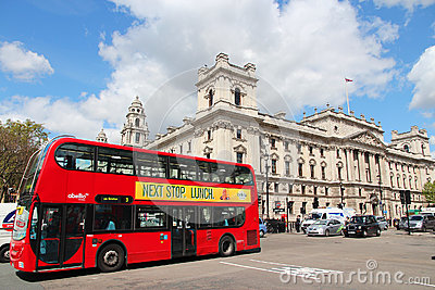 London double decker Editorial Photography