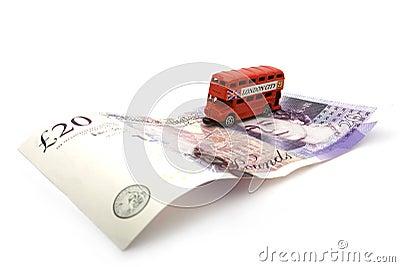 London double decker bus. 20 pounds.