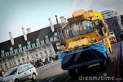 London duck tours Editorial Image