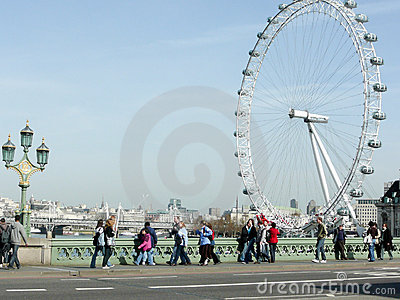 London Eye Editorial Photo