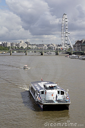 London Eye Editorial Photography