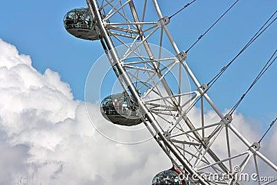 London Eye 2 Editorial Image