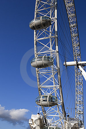 London Eye Editorial Image
