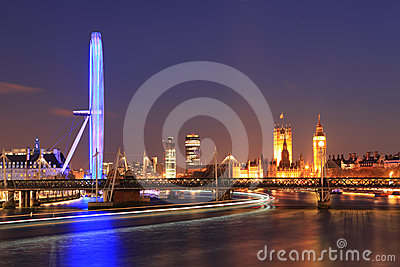London Eye Editorial Photography