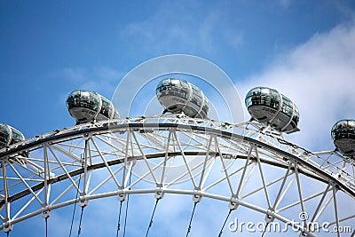 London Eye Editorial Photo