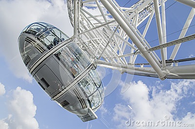 London eye cab Editorial Stock Image